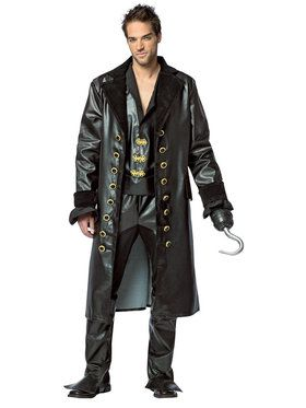 Once Upon A Time Mens Hook Costume