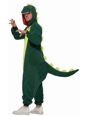 One - Piece Dinosaur - Standard Adult Costume
