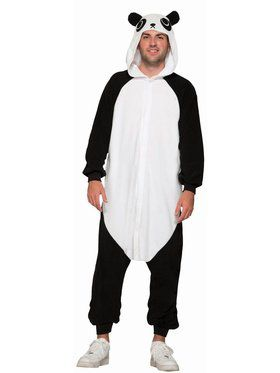 One Piece Adult Panda Costume