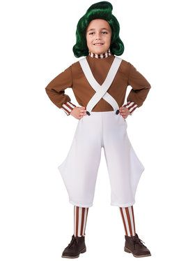 Oompa Loompa Costume for Boys