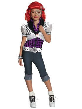 Operetta Monster High Girl's Costume
