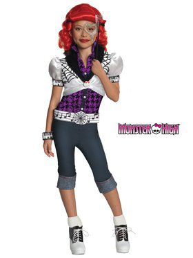 Operetta Monster High Girls Costume