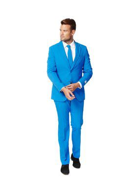 OppoSuits Blue Steel Suit for Men