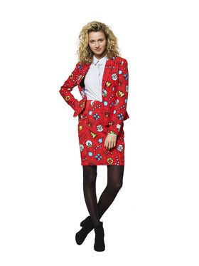 OppoSuits Dashing Decorator Womens Suit for Halloween