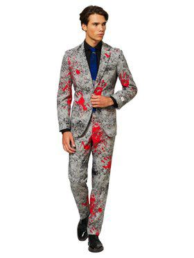 OppoSuits Halloween Hand Print Suit for Men