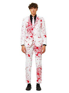 OppoSuits Halloween Splatter Suit for Men