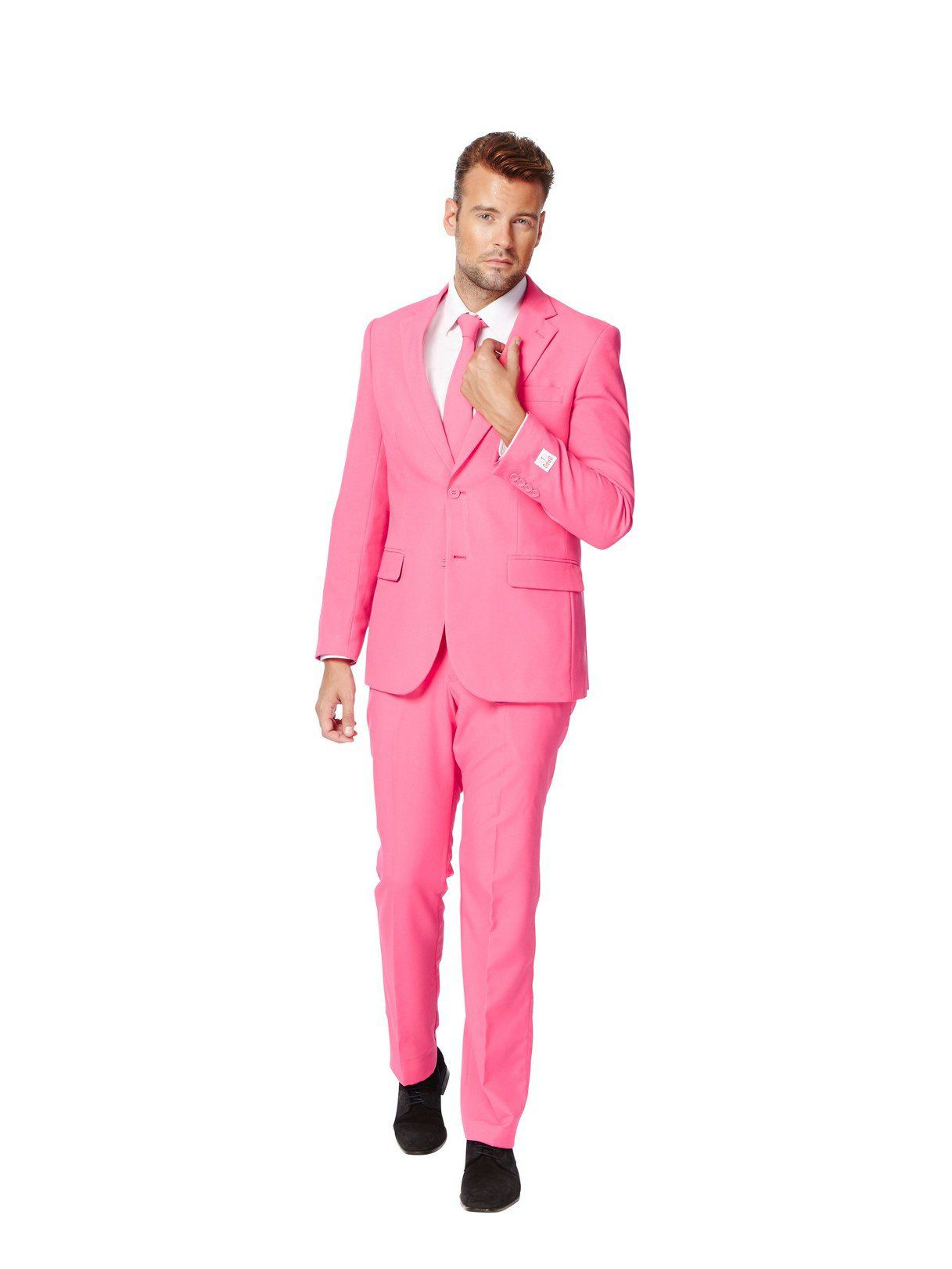 OppoSuits Mr. Pink Suit for Men - Wholesale Party Supplies