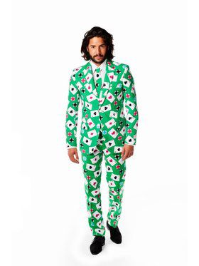 OppoSuits Poker Face Suit for Men