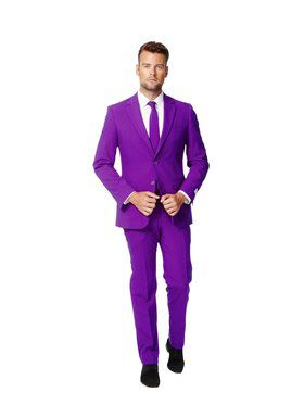 OppoSuits Purple Prince Suit for Men