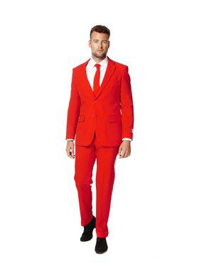 OppoSuits Red Devil Suit for Men
