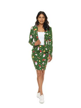 OppoSuits SantaBabe Womens Suit