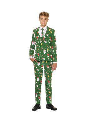 OppoSuits Santaboss Teen Boys Suit and