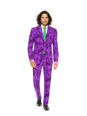 OppoSuits The Joker Mens Suit And Tie Set