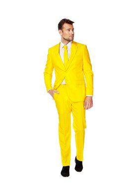 OppoSuits Yellow Fellow Suit for Men