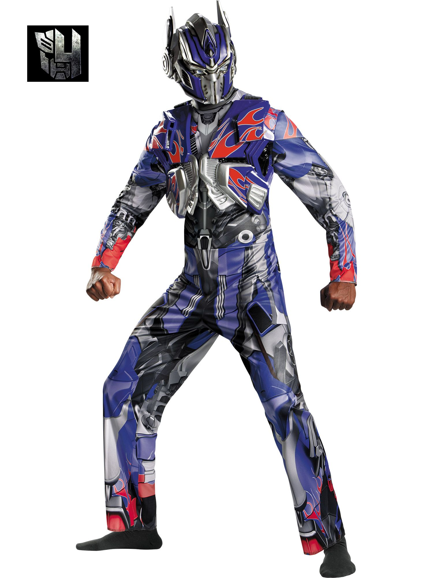 Adult Transformers 4 Deluxe Optimus Prime Costume DI73554-XL