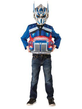 Optimus Prime Transforming Flip and Reveal Adult Costume Top