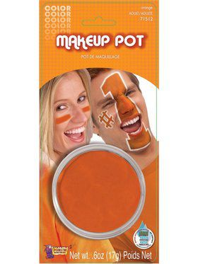 Orange Face Paint