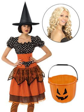 Witch Sister Character Kit Orange