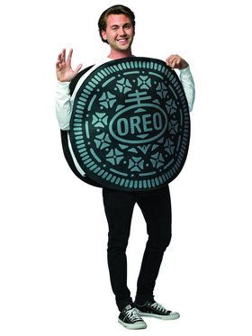 Oreo Cookie Unisex Adult Costume