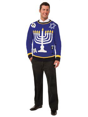 Outrageous Chanukkah Sweater Costume Top