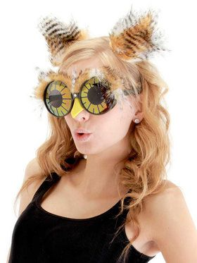 Owl Ears And Glasses Accessory Kit For Adults