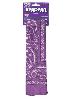 Paisley Purple Bandana