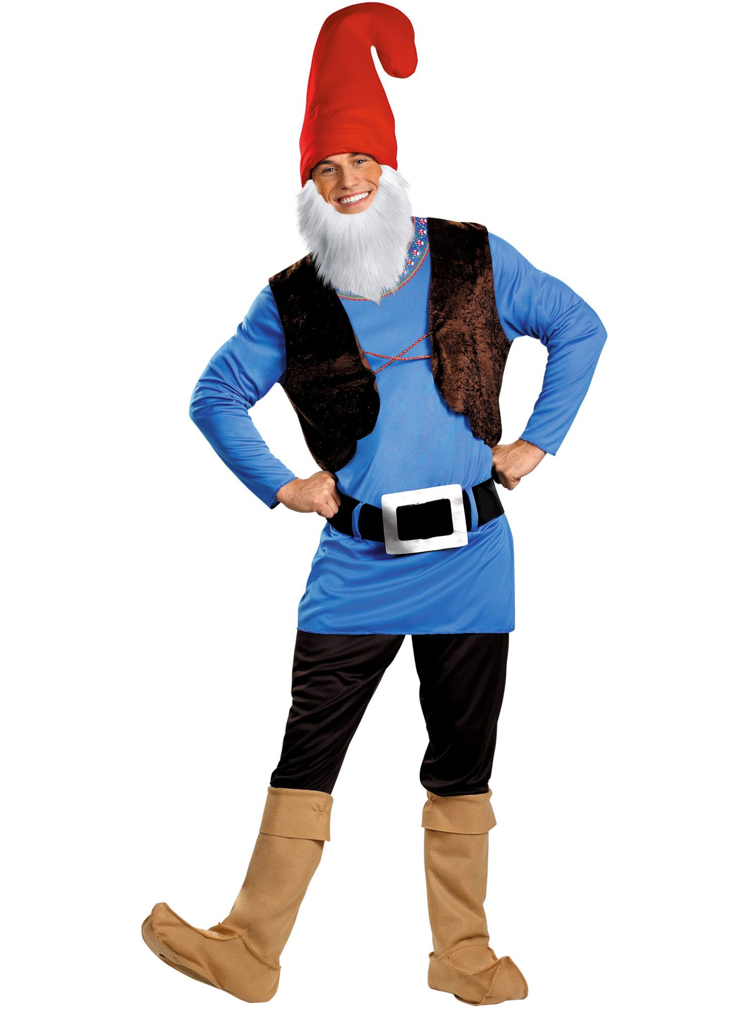 Disguise Inc Adult Papa Gnome Costume For Men