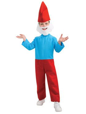 Papa Smurf Youth Costume