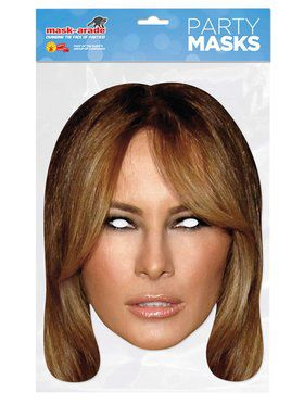 Paper Melania Mask for Adults