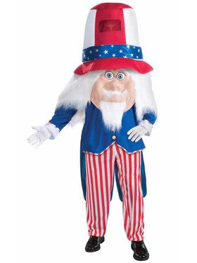 Adult Parade Uncle Sam Costume For Adults