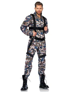 Paratrooper Men's Costume