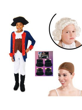 Patriot Soldier Boy Child Costume Kit