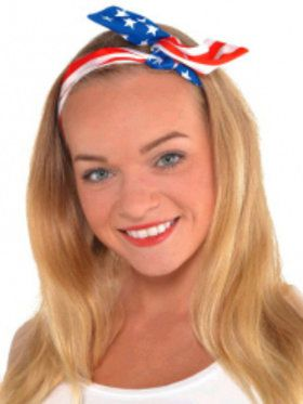 Patriotic Headscarf