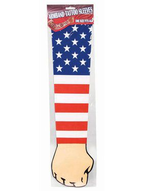 Patriotic Tattoo Sleeve