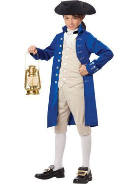 Paul Revere Child Costume Boy's Costume