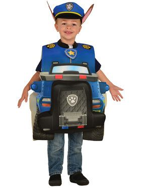 Paw Patrol Chase 3D Tunic and Hat For Toddlers
