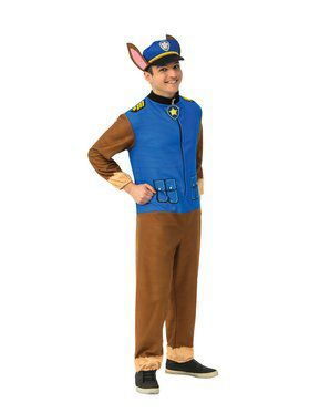 Paw Patrol Chase Jumpsuit Costume for Adults