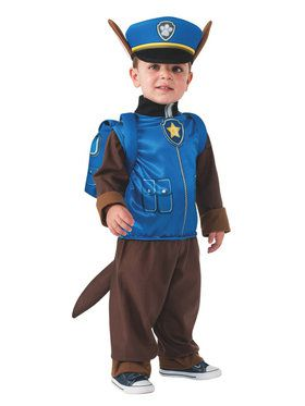Paw Patrol Chase Child's Costume