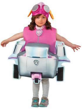 Paw Patrol Skye 3D Tunic and Hat For Toddlers
