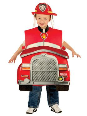 Paw Patrol Marshall Deluxe Costume For Children