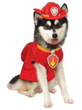 Paw Patrol Marshall Costume for Pet