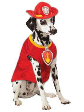 Paw Patrol Marshall Pet Costume
