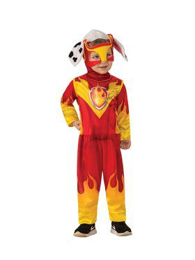 Paw Patrol Mighty Pups Marshall Costume for Kids