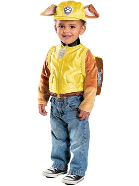 Paw Patrol Rubble Deluxe Costume Toddler