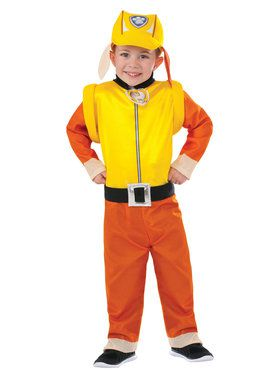 Paw Patrol Rubble Youth Costume