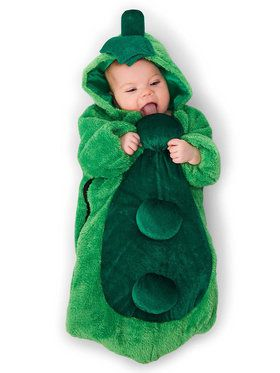 Baby Pea in the Pod Bunting Costume For Babies