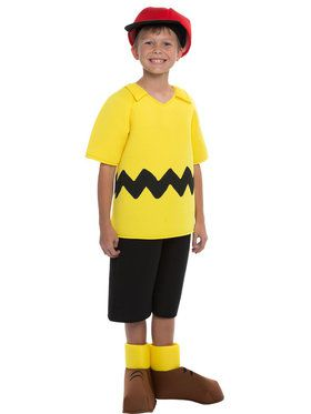 Peanuts: Deluxe Charlie Brown Costume For Children