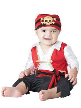 Pee Wee Pirate Costume Toddler