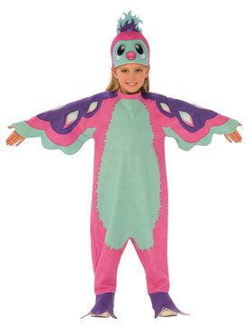 Pengualas Hatchimal- Pink/Teal Child Costume