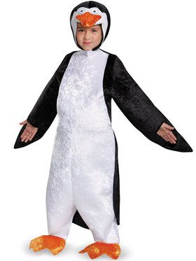 Penguins Of Madagascar Skipper Deluxe Boy's Costume